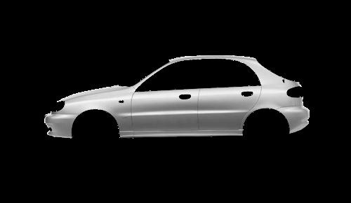 Цвета кузова Lanos Hatchback